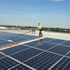 solar panel cleaning 011
